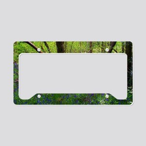 Scottish Woods License Plate Holder