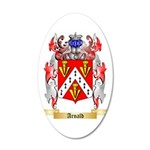 Arnald 35x21 Oval Wall Decal