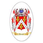 Arnal Sticker (Oval 50 pk)