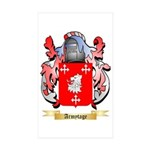Armytage Sticker (Rectangle 50 pk)