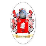 Armytage Sticker (Oval)