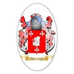 Armytage Sticker (Oval 50 pk)