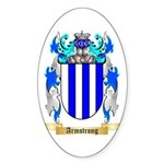 Armstrong Sticker (Oval 50 pk)