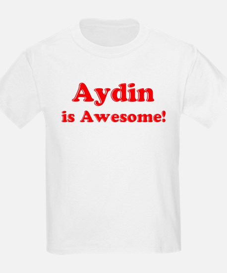 Aydin is Awesome Kids T-Shirt