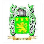 Armenteros Square Car Magnet 3