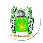 Armenta Round Car Magnet