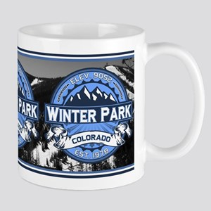 Winter Park Blue Mug