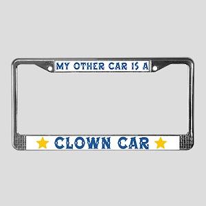 Clown Forum License Plate Frame