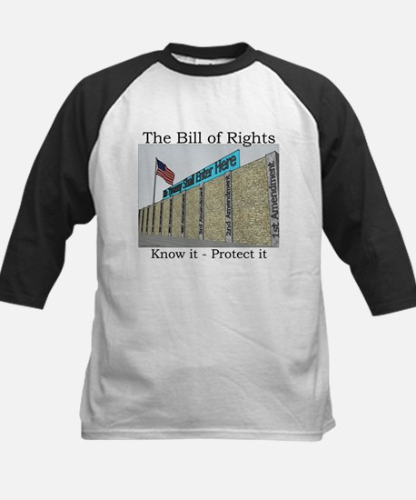The Wall Against Tyranny Kids Baseball Jersey