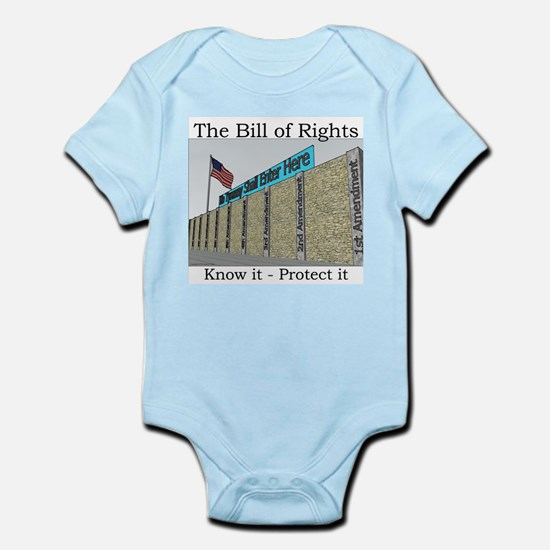The Wall Against Tyranny Infant Bodysuit