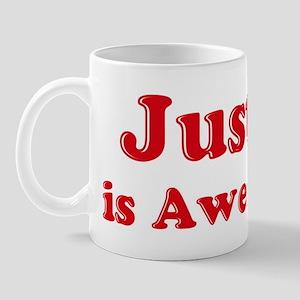 Justin is Awesome Mug