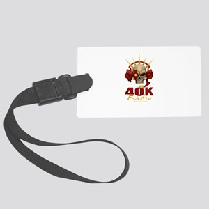 40k Radio Large Luggage Tag