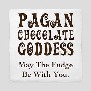 Pagan Chocolate Goddess Queen Duvet