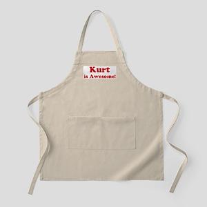 Kurt is Awesome BBQ Apron