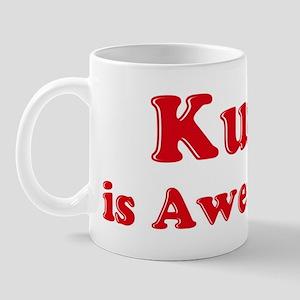 Kurt is Awesome Mug
