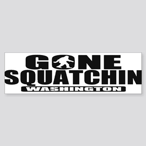 Gone Squatchin Washington *State Edition* Sticker