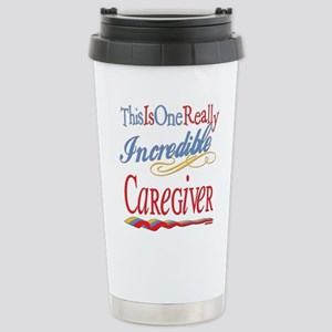 Incredible Caregiver Stainless Steel Travel Mugs