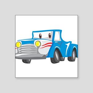 """Cabrio Square Sticker 3"""" x 3"""""""