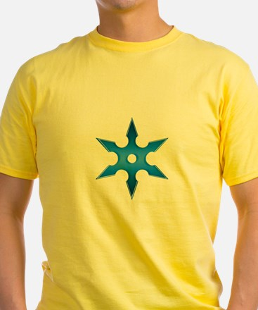 Shuriken Blue Ninja Star T