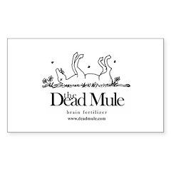 Dead Mule Wear Rectangle Decal