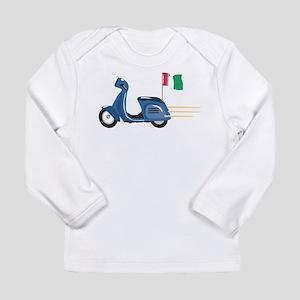 Italian Vespa Long Sleeve Infant T-Shirt