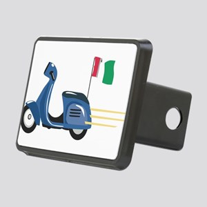 Italian Vespa Rectangular Hitch Cover