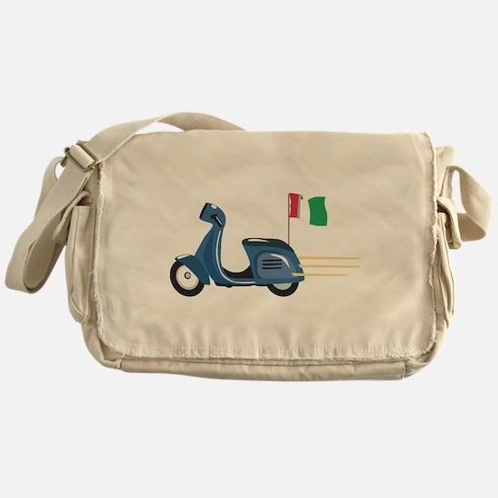Italian Vespa Messenger Bag