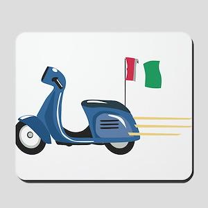 Italian Vespa Mousepad