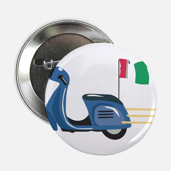 "Italian Vespa 2.25"" Button"