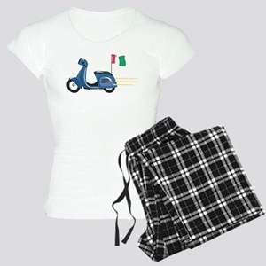 Italian Vespa Women's Light Pajamas