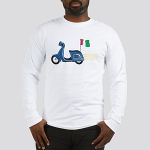 Italian Vespa Long Sleeve T-Shirt