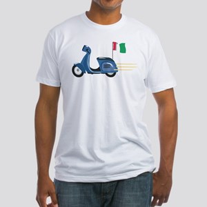 Italian Vespa Fitted T-Shirt