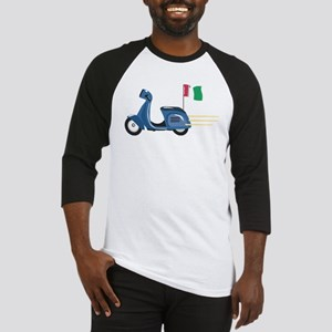 Italian Vespa Baseball Jersey