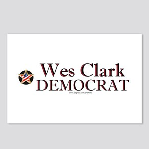 """Wes Clark Democrat"" Postcards (Package of 8)"