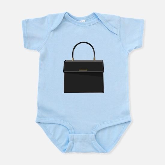 Black Purse Infant Bodysuit