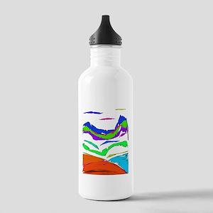 Mountain Zen Stainless Water Bottle 1.0L