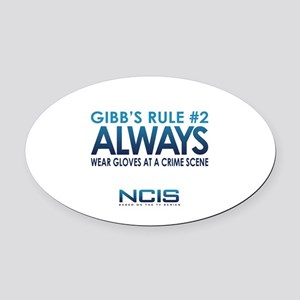 Gibbs Rule #2 Oval Car Magnet