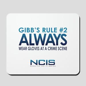 Gibbs Rule #2 Mousepad