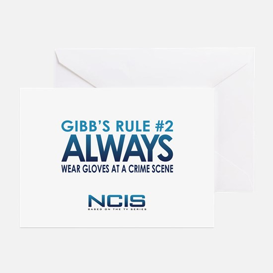 Gibbs Rule #2 Greeting Cards (Pk of 20)