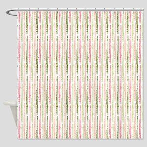 Watermelon Flutes Shower Curtain