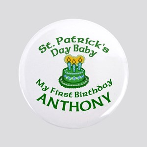 """ANTHONY Customized 3.5"""" Button"""