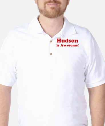 Hudson is Awesome Golf Shirt