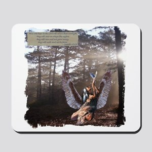 On Wings of Eagles Mousepad