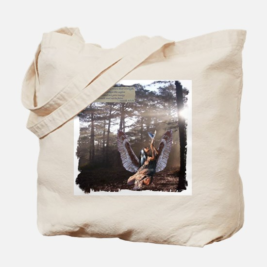 On Wings of Eagles Tote Bag