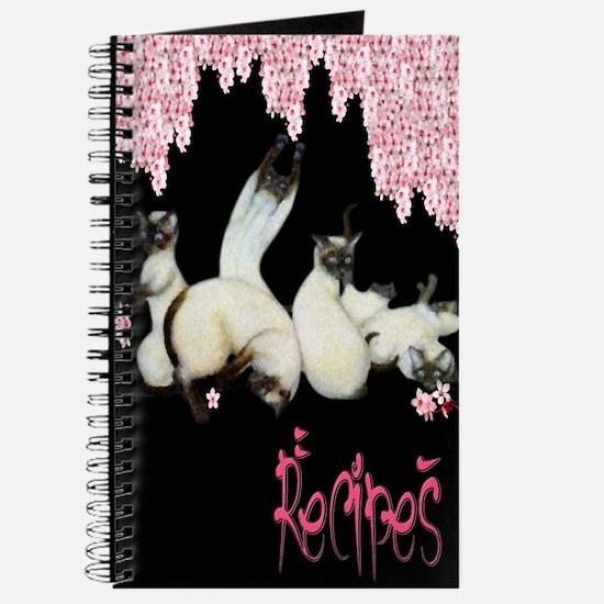 Siamese Cherry Blossoms Recipe Journal