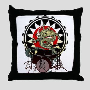 Dragon Drum 06 Throw Pillow