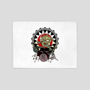 Dragon Drum 06 5'x7'Area Rug