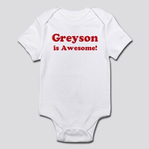 Greyson is Awesome Infant Bodysuit