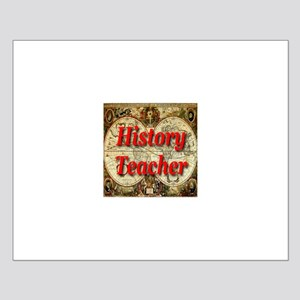 History Teacher Small Poster