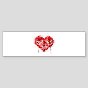 Valentines Death Sticker (Bumper)